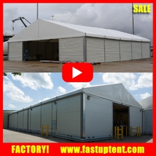 Industrial Big Waterproof Warehouse Storage Tent With PVC Coated Fabric For Sale
