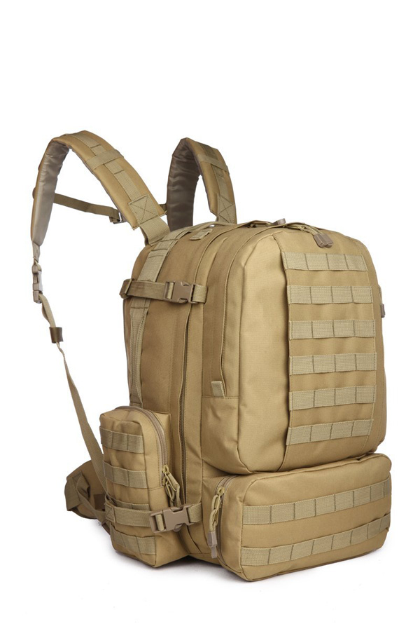 Outgear Military MOLLE Large Tactical Backpack with Grenade Survival Kit