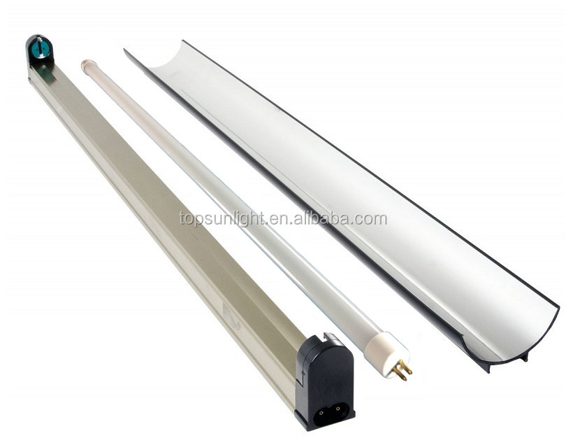 2015 new products 4FT EDJ t5 14W 48'' t5 cool tubes 6400K NANO reflector t5 aluminium profile fixture led grow lights t5