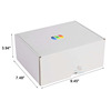 buy custom printing white shipping boxes wholesale
