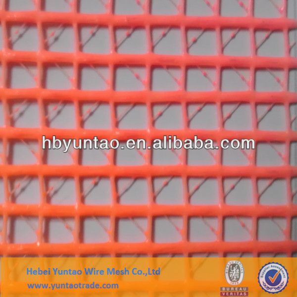 Fire resistance pvc coated polyester safety net for construction