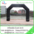 blank black color inflatable event arch