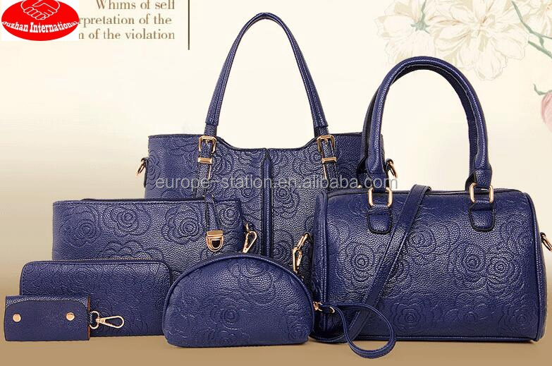 OL style 6 in 1 handbags sets new arriaval hot sale guangzhou factory