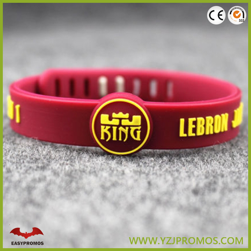 Custom Personalised Silicon Wristband 12mm ANY NAME ANY TEXT Bracelets Engraved