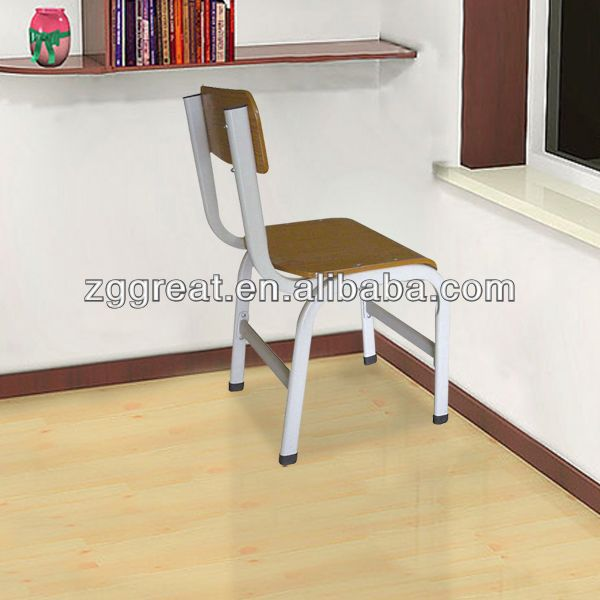 hot sale good quality wood folding university desk chair