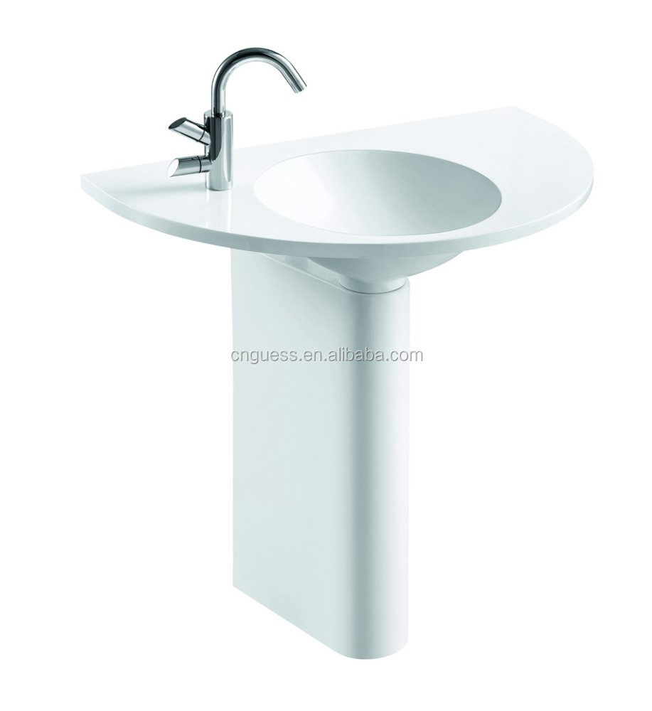 artificial stone basin for bathroom,K-J90119