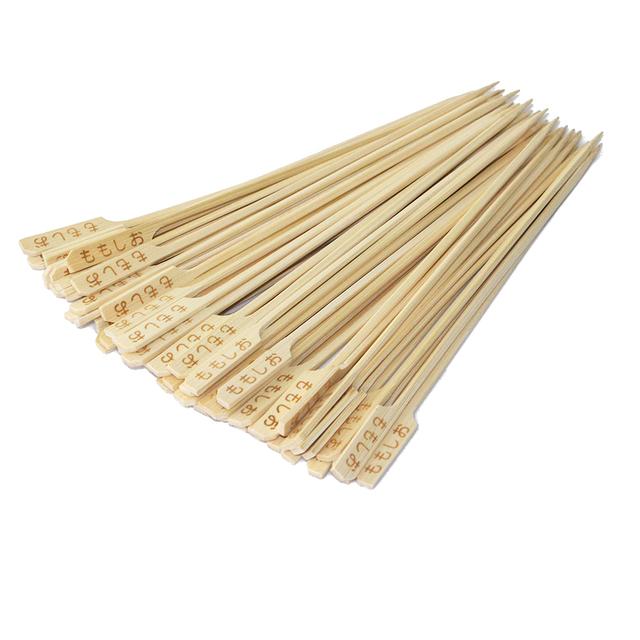 iron burn flag/golf/gun/teppo bamboo skewer/stick