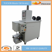 portable waste oil fired air duct heater