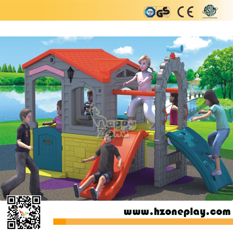 indoor or outdoor kids plastic play house toys