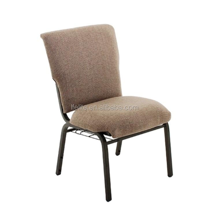 wholesale stacking fabric medium hazard church chairs