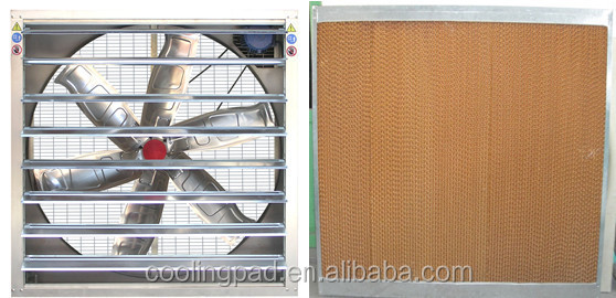 evaporative / Honey comb cooling pad for greenhouse and poultry house