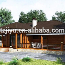 russian pine wood prefabricated houses and villas for sale