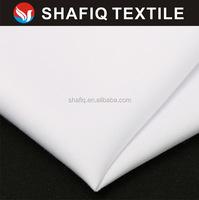 silk hand feeling100%T spun polyester fabric for make islamic wear