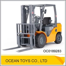 Alloy car toy forklift die cast car 1:20 scale car toy truck