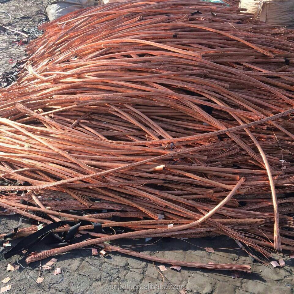 99.99% Purity Copper Wire scrap/ bare bright coppercopper scrap wire 99.99%