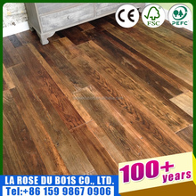 alibaba hot sale natural oiled reclaimed wood 3 layers engineered flooring
