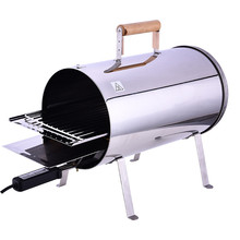Good quality indoor unique design popular bucket shape economical practice electric smokers bbq grill