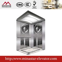 China elevator residental elevator outdoor passenger lift