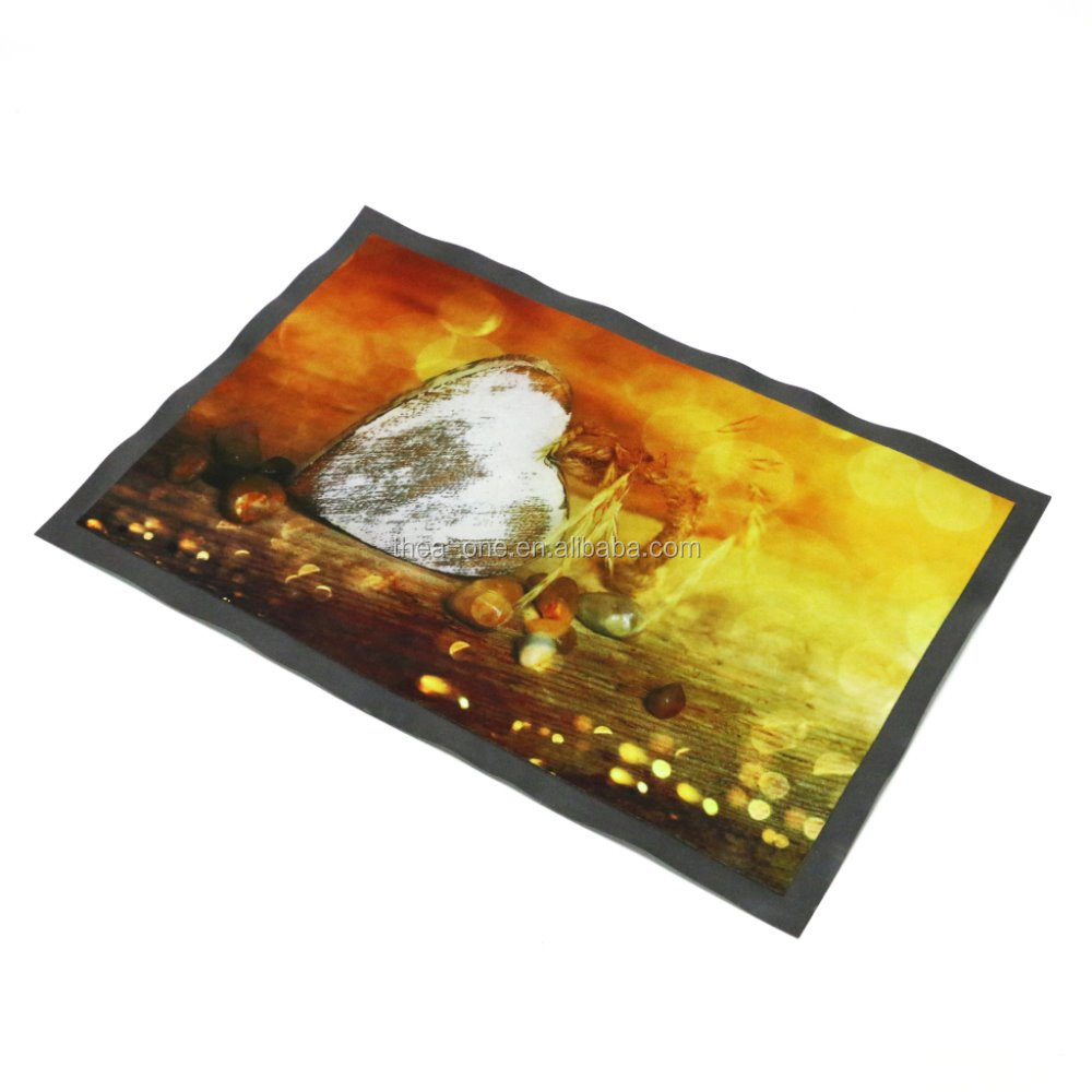 Good-selling PVC door mat, Non-woven floor mat with PVC backing