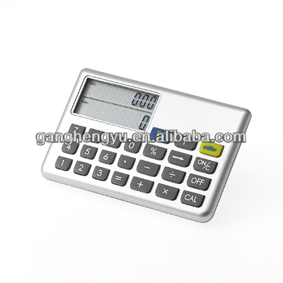 Portable conversion euro currency electronic calculator