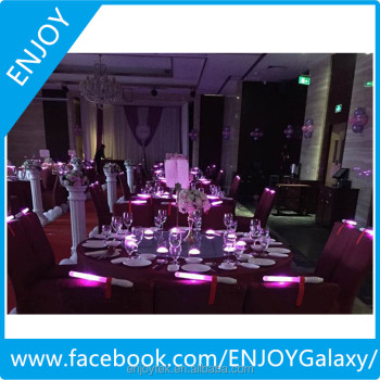 Wedding design intelligent LED light, wireless control by software