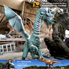 MY Dino-JL251High simulation fiberglass fly dragon with wings for sale
