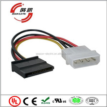 plastic waterproof 2.50mm pitch 4-pin molex 5264 connector
