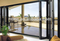 Australia style bi fold door with double glass and German hardware