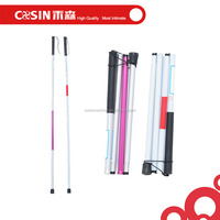 foldable aluminum white cane for the blind people