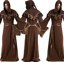 DJ-PZ-195 Sorcerers serving role-playing uniforms magician masquerade costume Halloween party