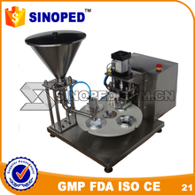 Small Capacity Coffee Capsule Filling and Sealing Machine for espresso, kcup and lavazza