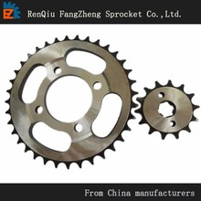 High quality motorcycle chain and sprockets kits