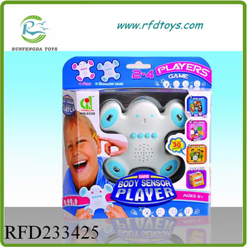 Human sensory toy game body sensor player toy