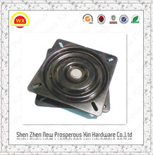Ball bearing heavy duty base plate hardware rotating turntable