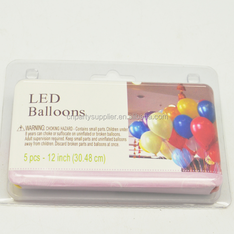 Cheapest Wedding Decoration LED Balloons with Switches On/Off