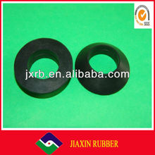 Black color Industry silicone rubber flat washer