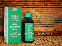 KRIMIRAJA Keshakalikarana Oil (Hair Black Oil)