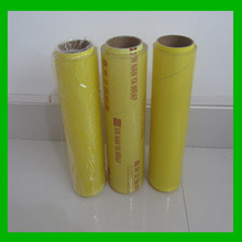pvc material and stretch film type soft food grade packing film