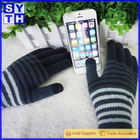 Cool Winter Smart i touch gloves for phone With 5 fingers