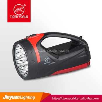 Outdoor rechargeable search light for camping