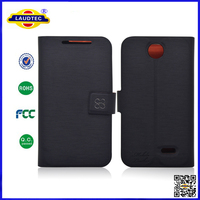 For Nokia X stand leather case with card slot for Nokia X case cover