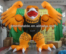 Yellow eagle inflatable animals for advertising