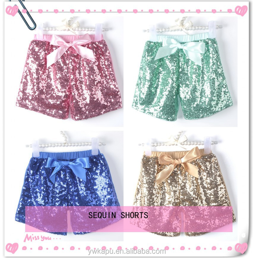 Wholesale sequin shorts for children, wholesale sequin fabric india