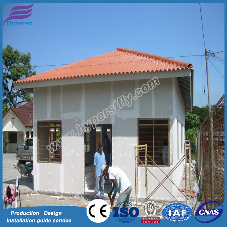 Light Gauge Steel Affordable House/ Prefabricated House Structure Frame House