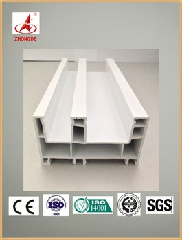 Hot selling UPVC profile for windows and doors 75 sliding frame CE certificate