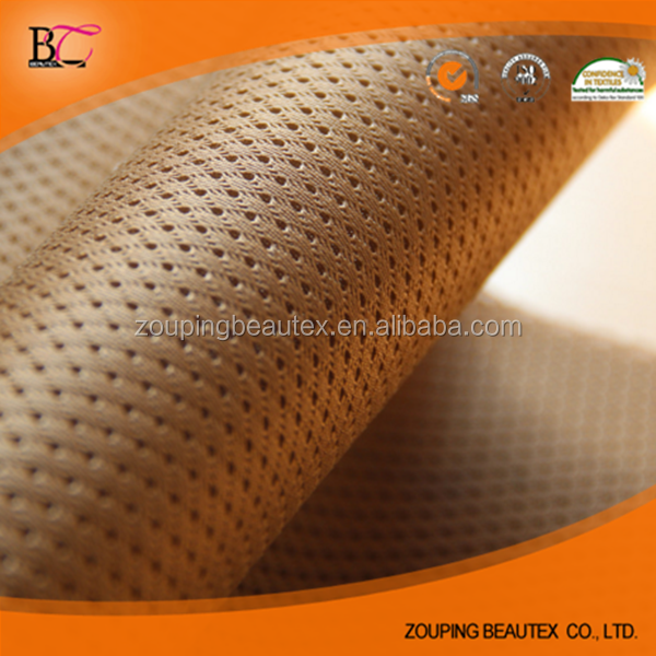 100% Polyester 3mm spacer small hole mesh fabric for mattress