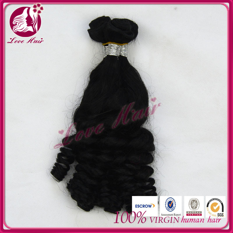 Long length tight fummi curl weaving human hair silk beauty supply hair extensions 20 inch brazilian virgin hair