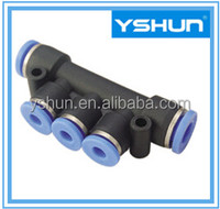 PK Union Branch Pneumatic Fittings, Push in Fittings