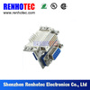 chinese supplier DVI to High Density D-Sub Connector with Board Fork PCB Mounting
