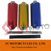 New style high quality factory price auto part exhaust muffler colorful